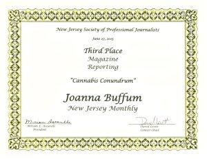 NJSPJ Award